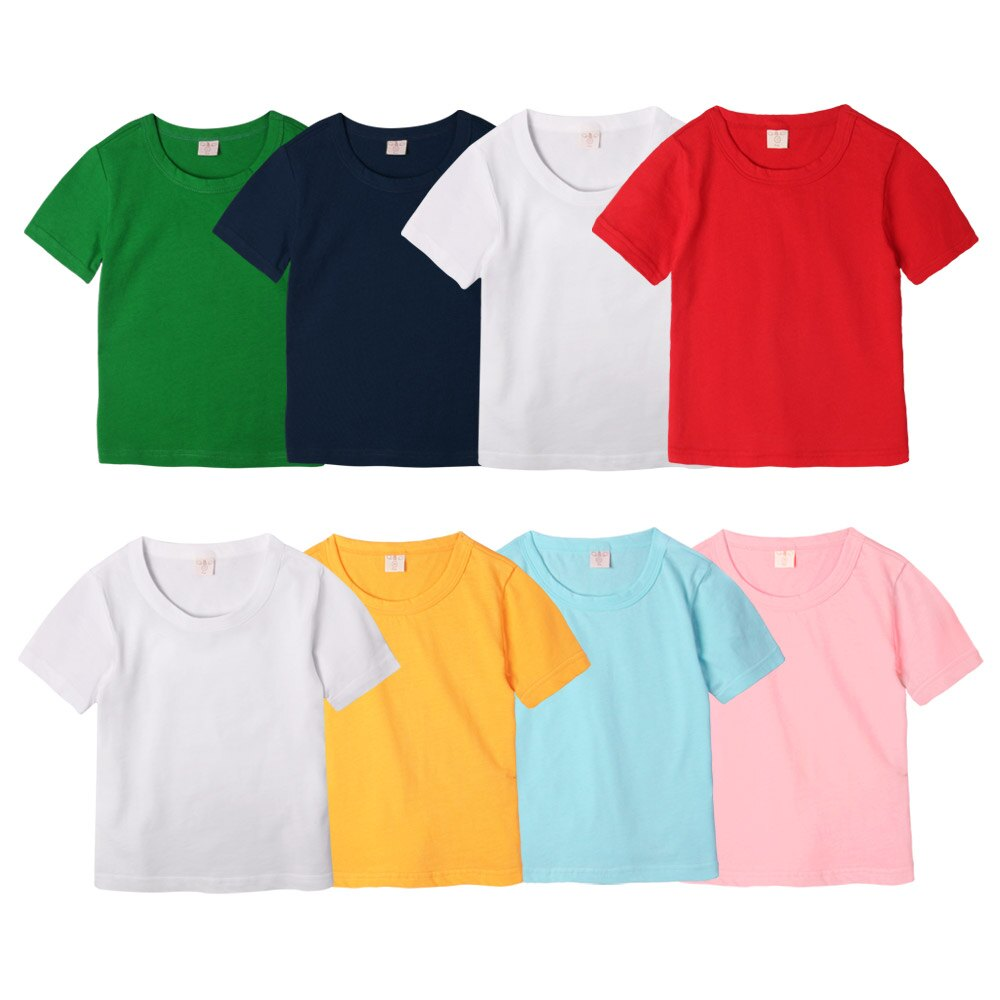 Augelute 兒童  短袖圓領純色棉T 51089 限購6件 1