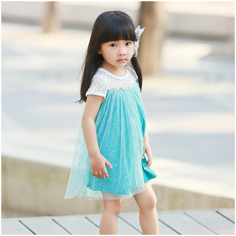 Augelute 夢幻公主蕾絲亮片洋裝 52282