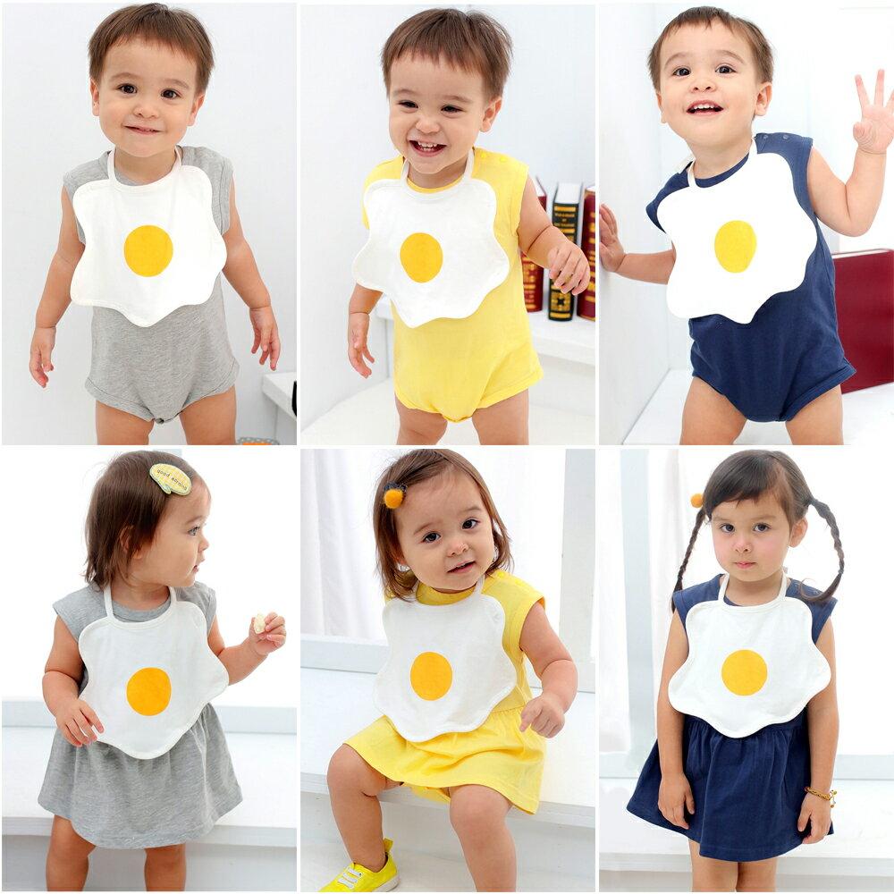 Augelute Baby 趣味荷包蛋配包屁裙 / 衣 含圍兜 61063 0