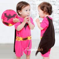 造型包屁裙 女蝙蝠俠 披風 女寶寶 連身衣 連身衣 爬服 萬聖節 Augelute Baby 32003(好窩生活節)-baby童衣-媽咪親子推薦