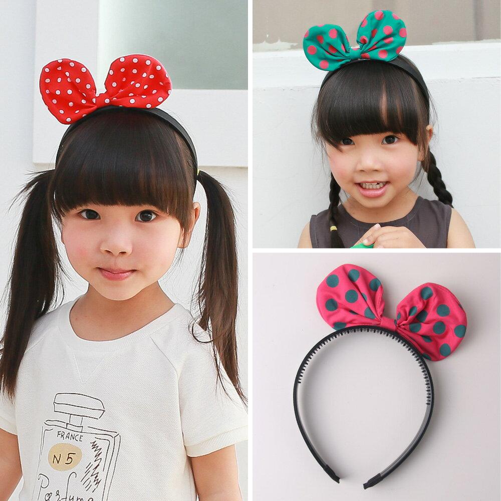 兒童花點兔耳朵髮箍  45001