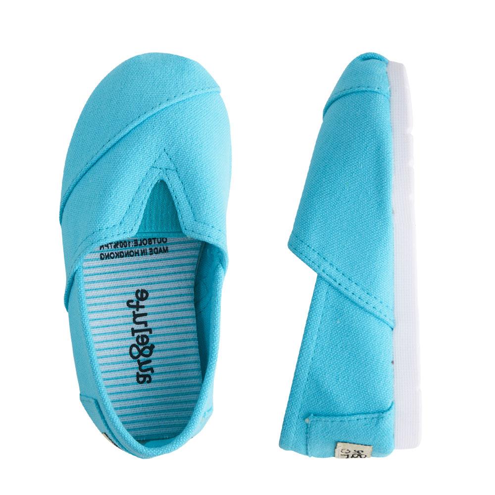 懶人鞋 童鞋 條紋 平底鞋 休閒鞋 男童 女童 經典百搭 素面 鞋子 Augelute F1051 4