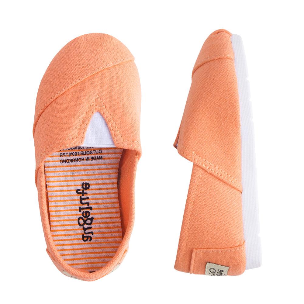 懶人鞋 童鞋 條紋 平底鞋 休閒鞋 男童 女童 經典百搭 素面 鞋子 Augelute F1051 5