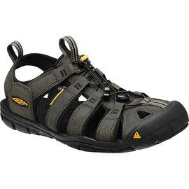 《台南悠活運動家》 KEEN 美國 男款 戶外護指涼鞋 深灰 1013107