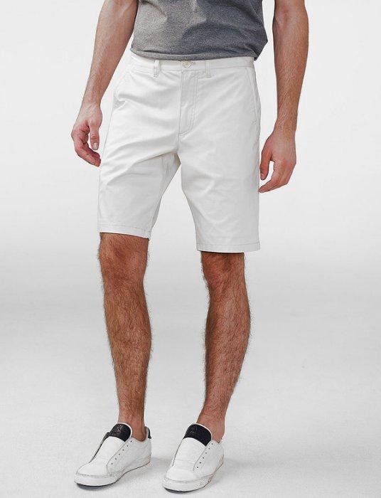 美國百分百【全新真品】Armani Exchange 短褲 AX 褲子 休閒褲 五分褲 素面 白色 H907