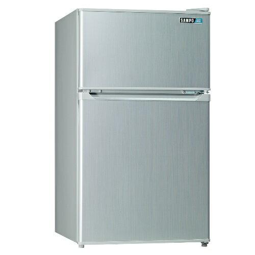 全館回饋10%樂天點數★SAMPO聲寶【SR-A10G】100L雙門小冰箱(CP高於R1303W)