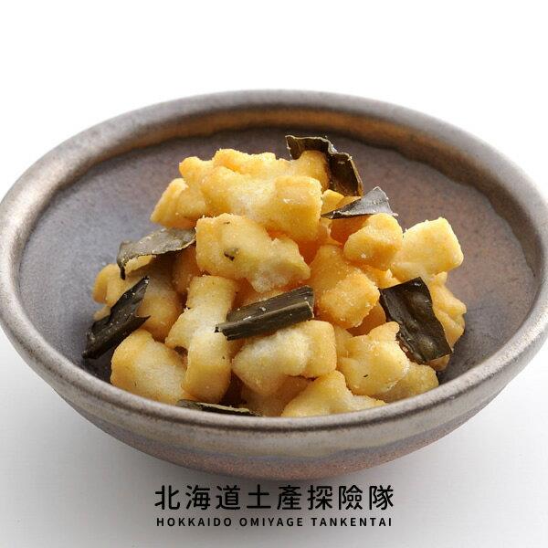 「日本直送美食」[北菓樓]開拓小米菓(襟棠昆布)~北海道土產探險隊~