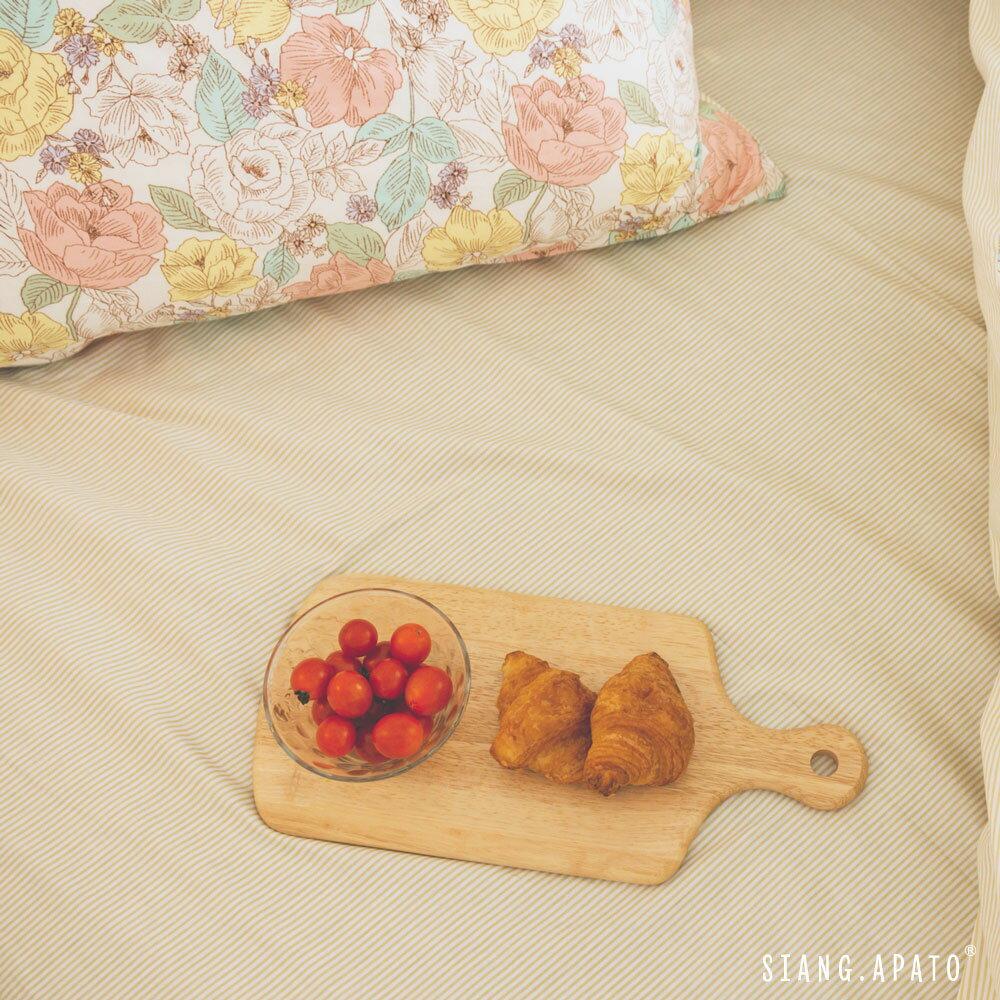純棉 床包枕套組 單人【Blossom】ikea風格 100%精梳純棉 翔仔居家│好窩生活節