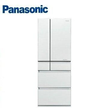 Panasonic國際牌NR-F553HX六門變頻玻璃冰箱(550L)(翡翠白)※熱線:07-7428010