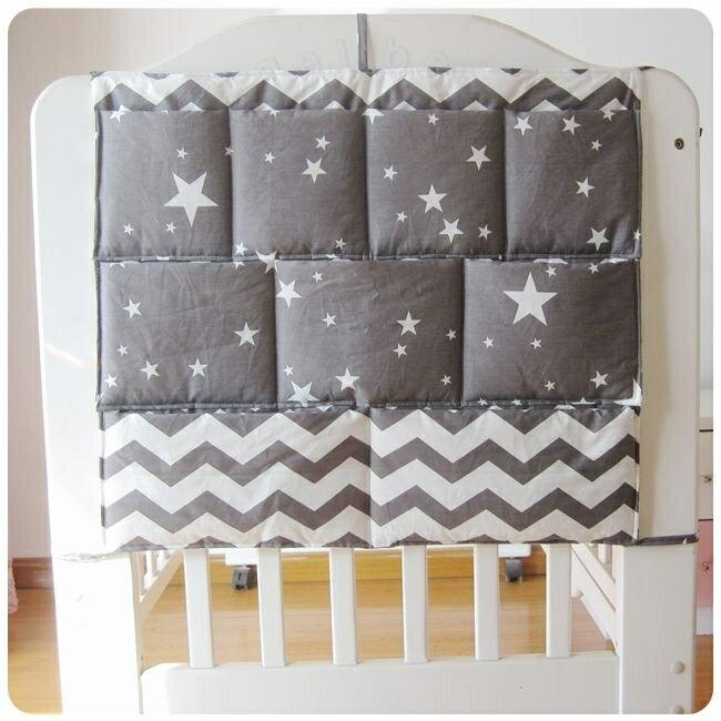 掛袋 北歐新品床床頭置物收納袋尿布小件床邊多功能儲物