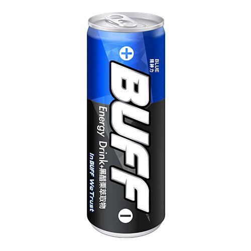 BUFF能量飲料-藍250ml*4【愛買】
