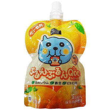 有樂町進口食品 日本 寒天果凍飲 葡萄/青葡萄/柳橙/水蜜桃 4902102100519 2