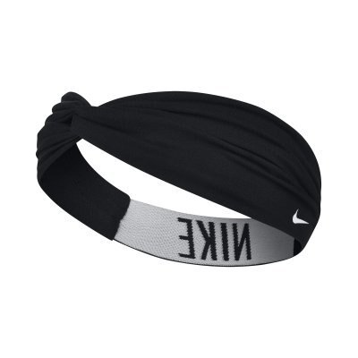 【H.Y SPORT】NIKE 漸層寬版圖案運動髮帶 頭帶 NJNH4027OS 黑(正版公司貨)
