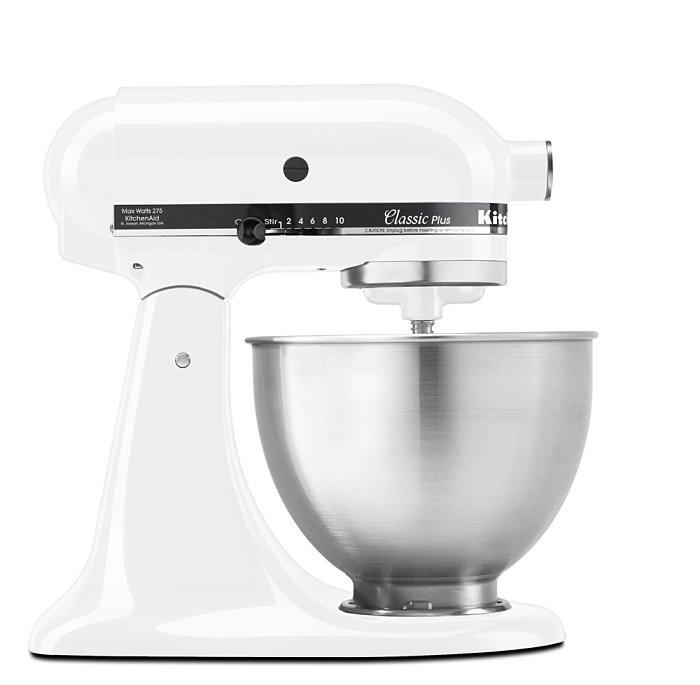 現貨 全新 美國 KitchenAid Classic Tilt-Head 4.5QT白色 4-1/2-Quart Stand Mixer 5qT 6qT