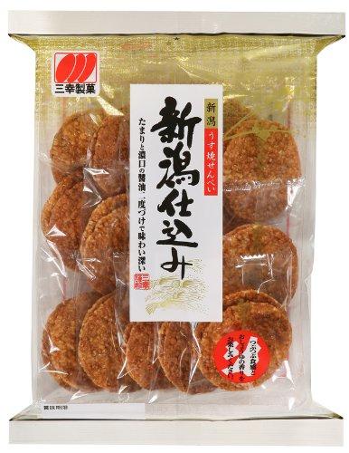 [即期良品]三幸製? 新潟醬油米果 142g 新潟仕?? *賞味期限:2017/04/26*