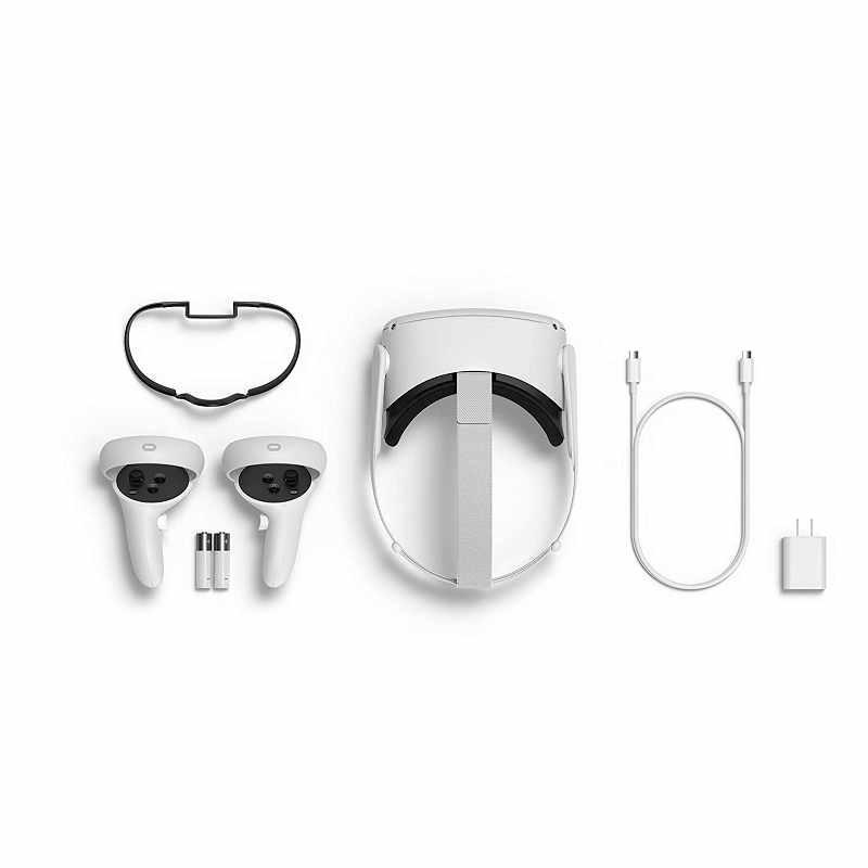 Oculus Quest 2 多合一VR虛擬實境耳機 256 GB Advanced All-In-One Virtual Reality Headset [2美國直購]