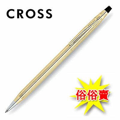 【CROSS】經典世紀系列 4502 原子筆10K包金 / 支