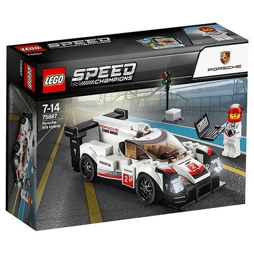 樂高積木LEGO《LT75887》SPEEDCHAMPIONS系列-Porsche919Hybrid