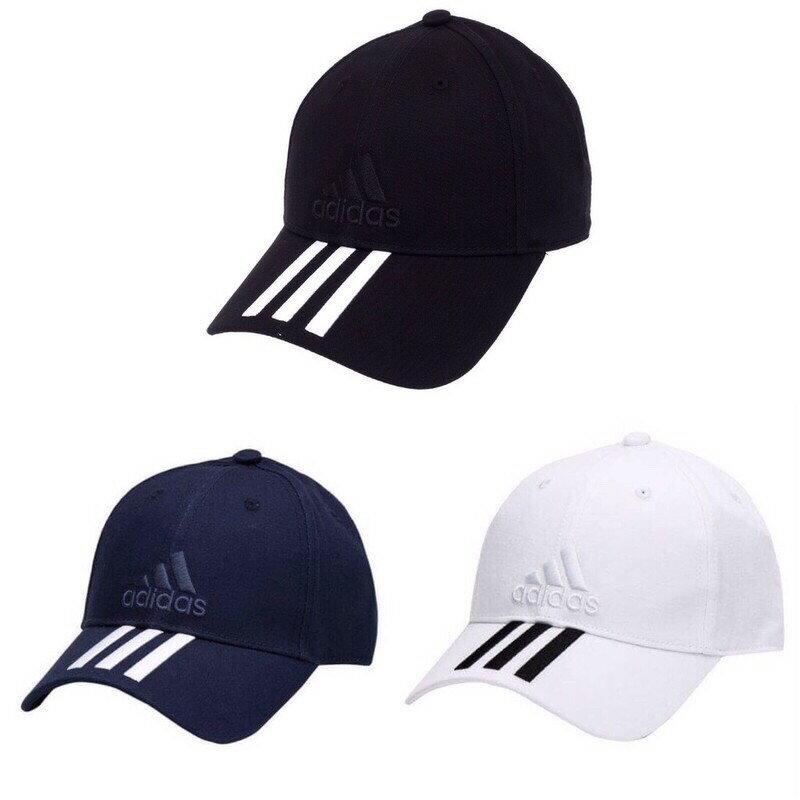 KUMO SHOES-ADIDAS 3C CAP COTTO 電繡 老帽 黑S98156 白BK0806 藍BK0808