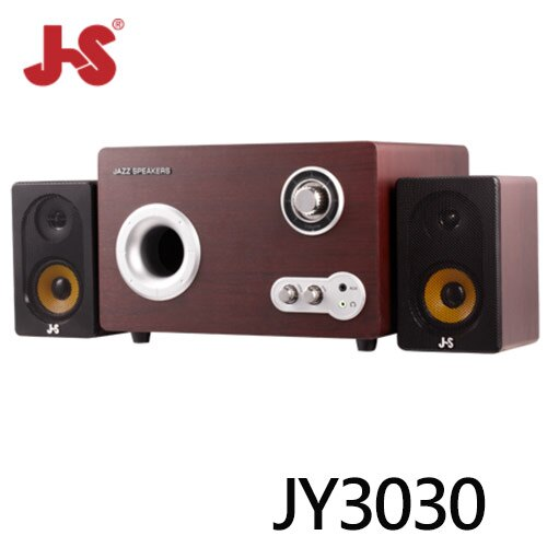 ~JS 淇譽~JY3030 阿波羅 2.1聲道全木質三件式喇叭