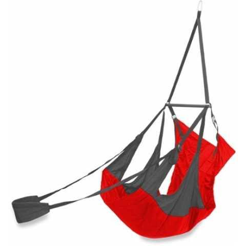 ├登山樂┤美國 ENO Air Pod Hanging Chair 輕量懶人躺椅 碳灰/紅  # AP004