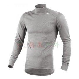 【【蘋果戶外】】odlo 152012 男高領 灰『送耳罩』瑞士 機能保暖型排汗內衣 衛生衣 發熱衣 保暖衣 長袖