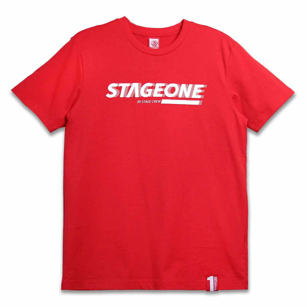STAGEONE MOTION TEE 黑色 / 紅色 兩色 6