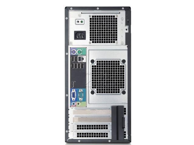 Dell OptiPlex 990 Tower Intel Quad Core i7-2600 3 40GHz 16 GB DDR3 RAM 1TB  HD DVD-RW Windows 10 Professional 64-Bit