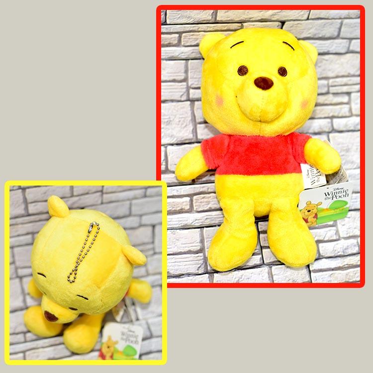 Pooh 小熊維尼 坐式 玩偶 吊飾 日本正版 迪士尼