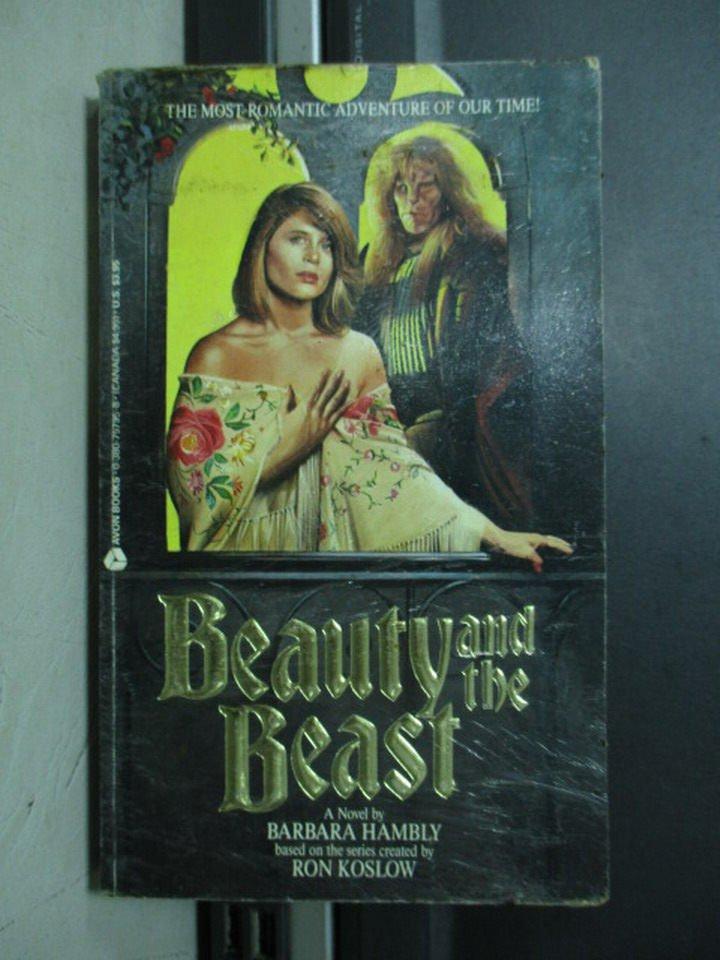 【書寶二手書T7/原文小說_NBF】Beauty and the Beast_1989