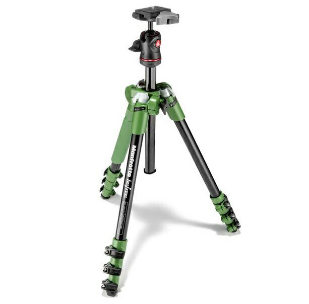 【普羅相機】MANFROTTO Befree 自由者旅行腳架套組 (綠色)
