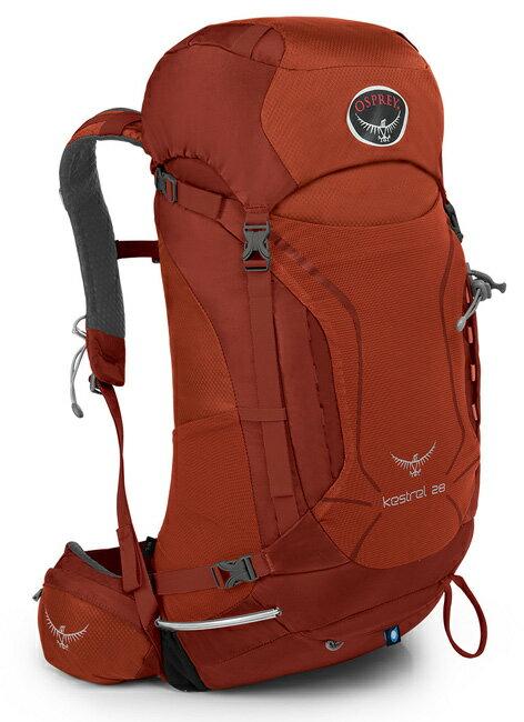 【鄉野情戶外專業】 Osprey |美國|  Kestrel 28 登山背包/健行背包 旅行背包/Kestrel28  【容量28L】