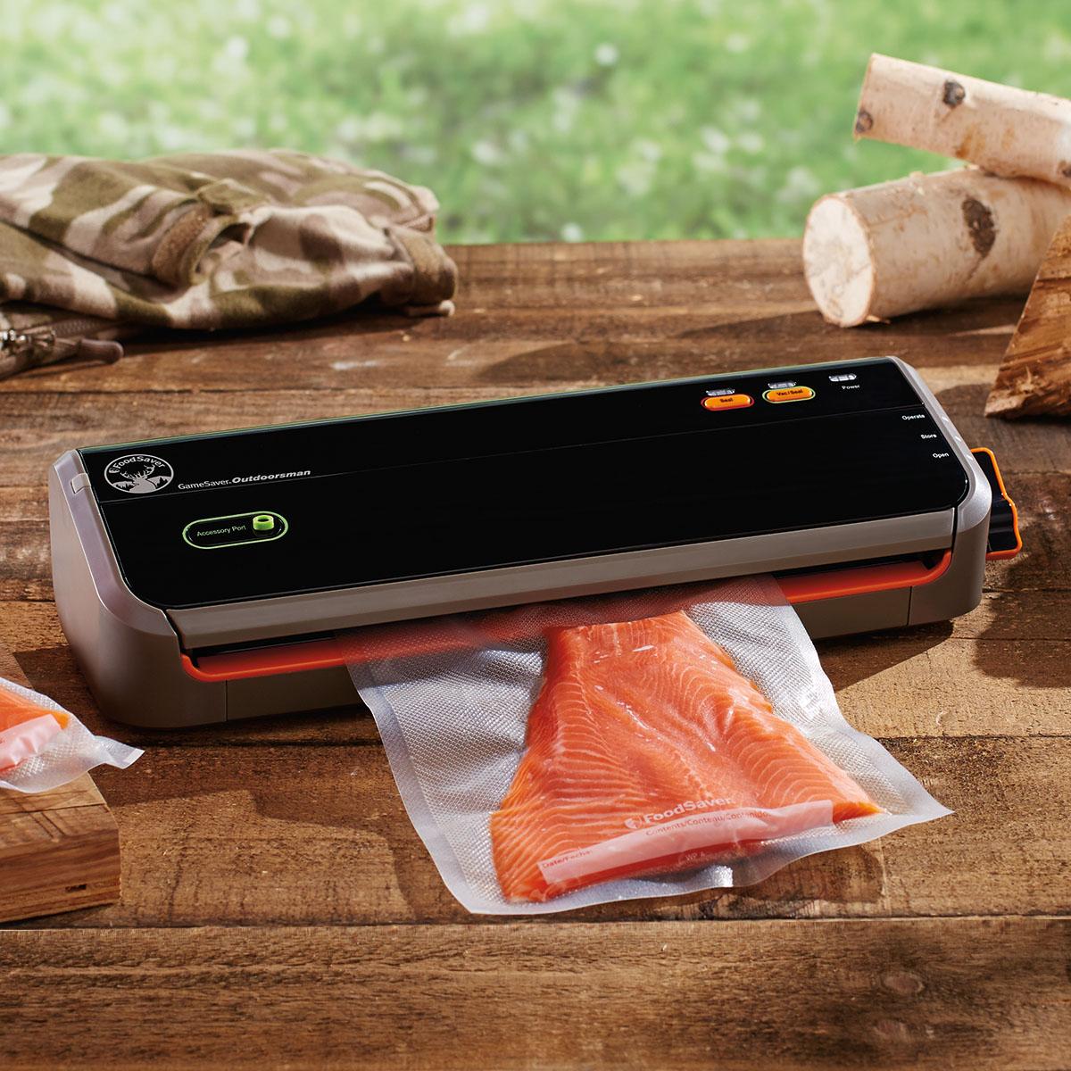 The NEW FoodSaver GameSaver® Outdoorsman™ GM2050 Food Preservation System GM2050-000 9