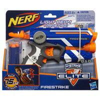 【 NERF 樂活打擊 】夜襲者紅外線衝鋒槍(新款為透明橘色)