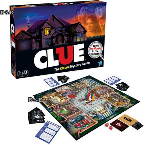 【 MB 智樂遊戲 】妙探尋兇 CLUE THE CLASSIC MYSTERY GAME