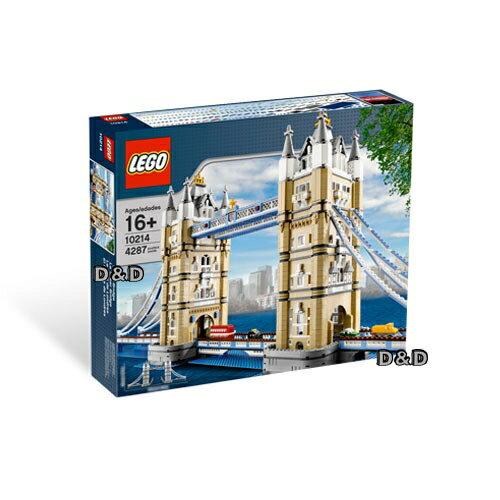 【LEGO樂高積木】LT10214TowerBridge倫敦鐵橋