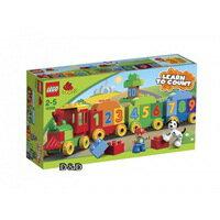 【 LEGO 樂高積木 】duplo 得寶幼兒系列 > LT10558  數字小火車
