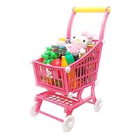 【 HELLO KITTY 】超市手推車