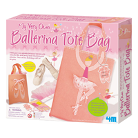 【 4M 】芭蕾舞鞋提袋 My Very Own Ballerina Tote Bag