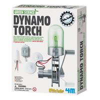 【 4M 科學探索】綠色科學系列 - 神奇發電機 Dynamo Torch