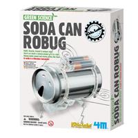 ~ 4M科學探索 ~綠色科學系列 ~ 環保機械蟲 Soda Can Robug