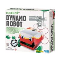 【 4M 】綠色科學系列 - 大嘴巴機器人 Dynamo Bobot