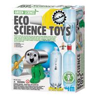 【 4M 科學探索】綠色科學系列 - 趣味環保科學玩具 Eco Science Toys