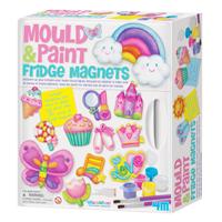 【 4M 美勞創作】超級冰箱磁鐵組合 Mould & Paint Fridge Magnets