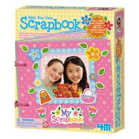 ~ 4M 美勞創作~我的 剪貼本 Make your own Scrapbook