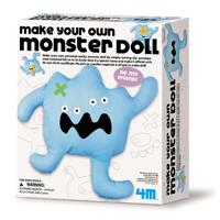 ~ 4M 美勞創作~布偶怪獸 Make Your Own Monster Doll