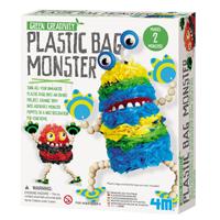 【 4M 美勞創作】綠色創作系列 - 環保袋怪獸 Plastic Bag Monster