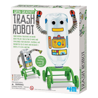 【 4M 】綠色創作系列 - 趣味寶特瓶機器人 Trash Robot