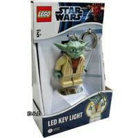 【 LEGO 樂高積木 】星際大戰 STAR WARS LED 燈鑰匙圈 - 尤達