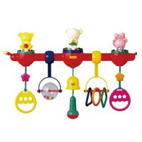【 Toyroyal 樂雅 】可愛嬰兒床音樂遊樂器